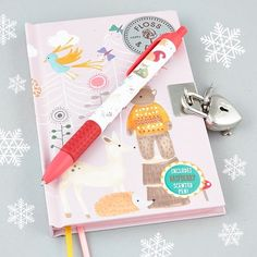 Lovely secret notebooks with scented pens by #snifty #notebook #play #playtime #secret #flossandrock