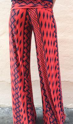 Crimson Tribal Exuma Pants - Boca Leche