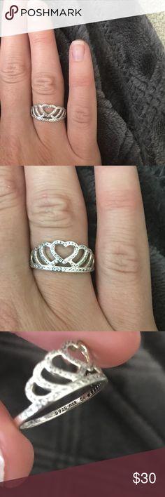 Pandora Pandora size 7 ....54 retails 60.00 Pandora Jewelry Rings