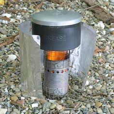Cat Food Container Stove