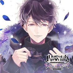 DL Eternal Blood - Ruki Mukami Yuma Diabolik Lovers, Mukami Kou, Mukami Brothers, Diabolik Lovers Wallpaper, Hot Vampires, Tokyo Mew Mew, Boy Character, Cute Anime Boy, Beautiful Boys