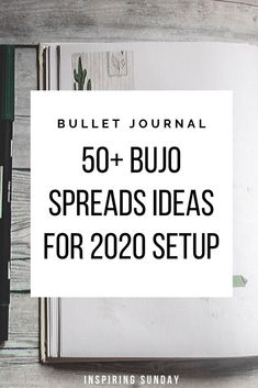 Best Bullet Journal Layout Ideas for 2020 Setup - Inspiring Sunday