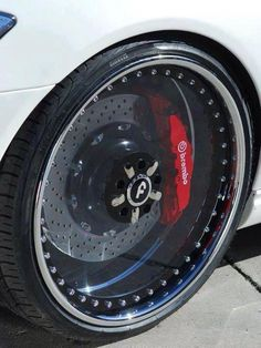 Clear Custom Wheels #MGP #MGPCaliperCovers #Brembo #ABSCaliperCovers #Rvinyl Like the look? Check us out: http://www.rvinyl.com/Caliper-Covers.html