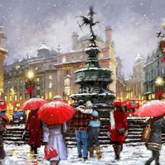 Richard Macneil ~ days in the life of a lady in red...
