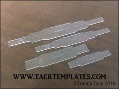 """""""Rectangle"""" Halter Set template set includes noseband and cheek templates.  Overlay templates are available as an add-on. #tacktemplates #leathertemplates #tack #templates #halter #pattern #leather #diyleather"""