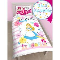 Alice in Wonderland Curious cingle quilt bedding cover