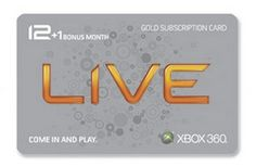 Xbox 360 Live 12 Month Gold Card plus 1 Month Bonus (Video Game) Xbox 360, Playstation, Microsoft Software, Coding Software, Software Download, Flash Memory Card, Xbox Console, Game Codes, Xbox Live