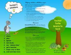 Tucker Turtle Template   Tucker Turtle learns to tuck