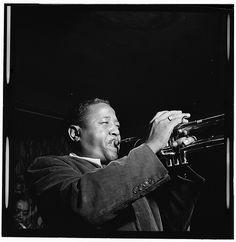 Portrait of Roy Eldridge, Spotlite (Club), New York, Nov. Jazz Artists, Jazz Musicians, Roy Eldridge, Francis Wolff, Freddie Hubbard, Jazz Trumpet, Jazz Cat, Thelonious Monk, Trumpet Players