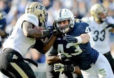 PENN STATE – FOOTBALL 2013 – Penn State's Mike Hull is a key piece returning to the Nittany Lion defense after registering 78 tackles — 44 of those solo — in Football 2013, Football Season, Football Team, Football Helmets, Pennsylvania State University, Nittany Lion, Social Events, Athletics, Charlotte