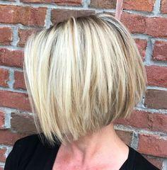 Edgy Bob Haircuts, Modern Bob Hairstyles, Choppy Bob Hairstyles, Straight Hairstyles, Hairstyles 2018, Roman Hairstyles, Simple Hairstyles, Hairstyle Ideas, Pretty Hairstyles