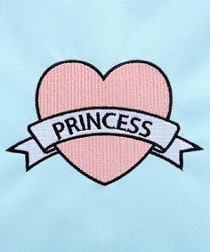 WEGO LADY WEGO / Princess embroidery backpack'S (win- go ladies) (backpack / backpack)   detailed image