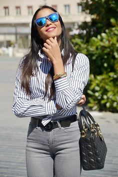 Love this Sumissura shirt! Designed by Italian Fashionista maysesmodamour Suits For Women, Shirt Blouses, Dress To Impress, Custom Made, Shop Now, Shirt Dress, Female, Womens Fashion, Skirts