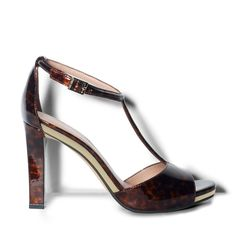 Tortoise shell is no longer just for eyeglasses.  Cute shoes from Vince Camuto.  $110