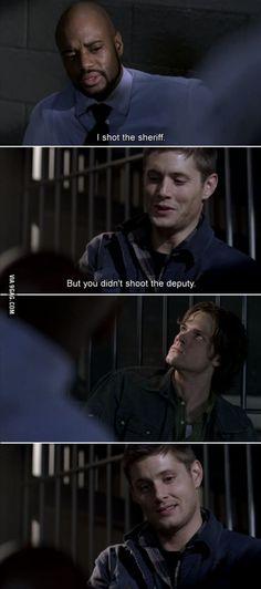 Sam, Dean, and Agent Hendricks