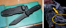 Winter Soldier Cosplay, Combat Knives, Creative Studio, Bucky, Cool Pictures, Tutorials, Marvel, Costumes, Patterns