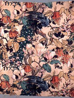 vintage printed textile