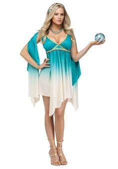 Sexy Halloween Costumes for Women, 2019 Adult Halloween Costume Ideas Goddess Halloween Costume, Sea Costume, Greek Goddess Costume, Sexy Halloween Costumes, Adult Costumes, Costumes For Women, Halloween Ideas, Roman Costumes, Greek Costumes