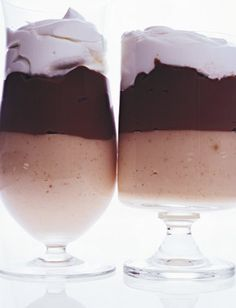 Peanut and Milk Chocolate Pudding                  Peanut Butter Milk Chocolate Puddings Recipe   at Epicurious.com