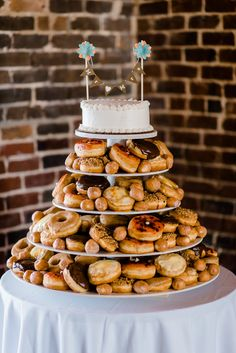 Donuts wedding cake...