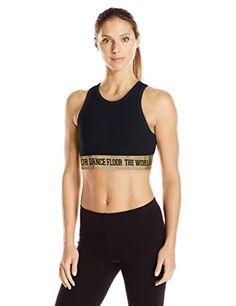 c22b77d8d5 Amazon.com  Zumba Women s High Neck Sports Bra  Sports   Outdoors