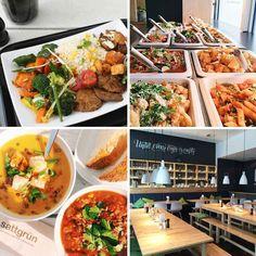 Buffet im vegetarischen und veganen Restaurant Düsseldorf