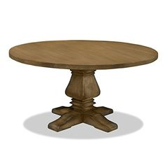 South Cone Home TOSCANADN72/SMOKE Irina Reclaimed wood Dining Table, 72