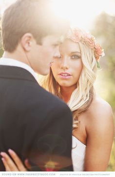 Jakeh & Leah {Nature Lovers}   {Pretty Weddings, Real Love}   The Pretty Blog