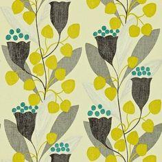bellflower sanderson behang luxury by nature