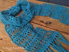 Ravelry: Simply Lace Scarf pattern by Kirsten Holloway