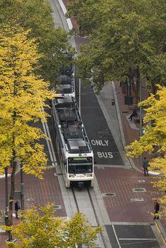 Trimet Lightrail - Portland, OR