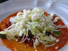 Laurel y su cocina: Enchiladas del suelo... receta de Sinaloa