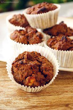 glutenvrije-en-suikervrije-appelmuffins - focus on foodies