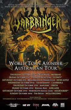 Warbringer Australian Tour - Details at http://www.bombshellzine.com/blog/2012/05/warbringer-announce-australian-tour-dates/