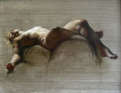 Holly White-Gehrt, figure study, 2012, oil on linen