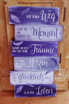 Schilder aus Holz / Metall - foto atelier schmid Signs made of wood / metal - foto atelier schmid Happy Quotes, Funny Quotes, Life Quotes, Happiness Quotes, Motivation Positive, Positive Quotes, Quote Aesthetic, Quotes For Kids, Metal Signs