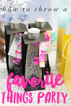 Throw a Favorite Things Party — And It Will Be Lovely Favorite Things Party, A Table, Gift Wrapping, Entertaining, Party Ideas, Parties, Amazing, Gift Wrapping Paper, Fiestas
