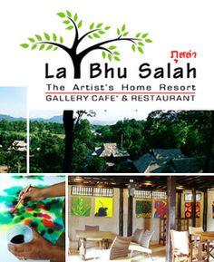 Cooking school and hotel; La Bhu Salah, Changmai