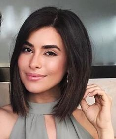 Divine Beauty of Bob Hairstyles 2019 That Will Ama. Divine Beauty of Bob Hairstyles 2019 That Will Amaze Everyone Long Bob Haircuts, Medium Bob Hairstyles, Haircut Bob, Cute Bob Hairstyles, Hairstyle Ideas, Simple Hairstyles, Pixie Haircuts, Bob Hairstyles For Thick Hair, Bobbed Haircuts