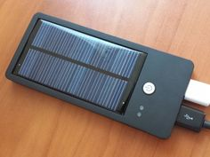 Solocharg is a sleek, lightweight, and powerful charger that harvests energy from the sun to keep your smartphone and other electronic gadgets running.