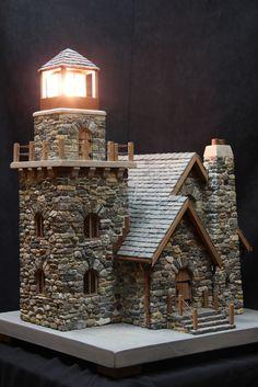 miniature stone lighthouses | by pedro davila66