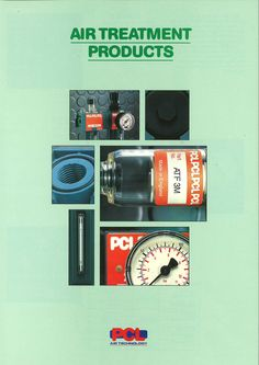 PCL - Air Treatment Products Mini Catalogue from 1993.