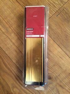 Polished Gold Letter plate | eBay
