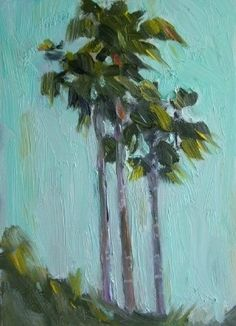 florida palm tree paintings