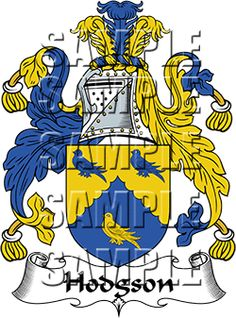Hodgson Family Crest apparel, Hodgson Coat of Arms gifts