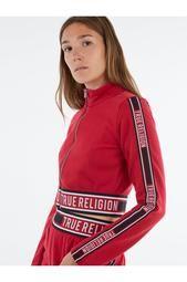 LOGO ZIP CROP SWEATSHIRT Plus Size Casual, Plus Size Outfits, Perfect Match, True Religion, Latest Fashion Trends, Plus Size Fashion, Fashion Outfits, Zip, Logo