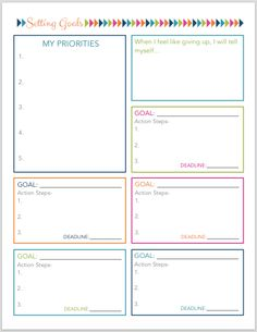 Teaching Resource A Template For Students To Use When Planning A