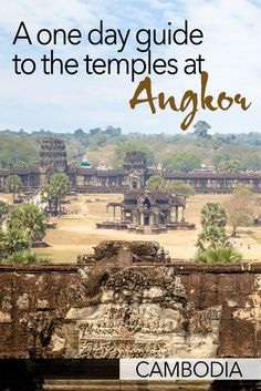 There are lots of things to see at Angkor but you can still get to most of the highlights in just one day. Here is my guide for how to spend one day at Angkor in Cambodia. This one day Angkor guide takes you to the best temples near Siem Reap. Luang Prabang, China Travel, Japan Travel, Travel Guides, Travel Tips, Travel Articles, Travel Advice, Laos, Cambodia Travel