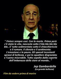 La grande bellezza (2013) Directed by Paolo Sorrentino. Screenplay, Sorrentino, Umberto Contarello