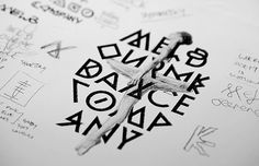 Thoughtful inspiration for Brand Identity. Melbourne Dance Company on Behance